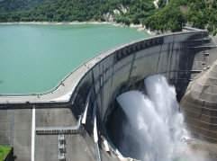 A Japanese dam like those tested using the Adaptive Energy solution